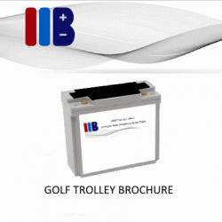 IIB Golf Trolley