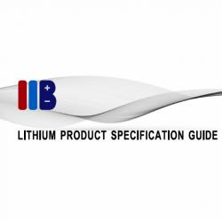 IIB PRODUCT SPEC GUIDE